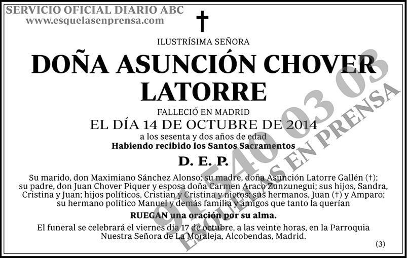 Asunción Chover Latorre